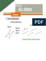 al2 - vecteurs - cours - diapos - rev2014