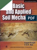 Soil Mechanics by Gopalranjan