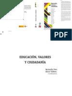 TORO TALLONE Educacion Valores y Ciudadania Aavv