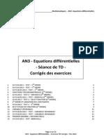 an3 - equations differentielles - ex td corr - rev 2014