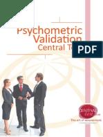 Psychometric Validation