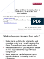 Resource and Staffing for Cloud Computing