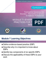C2 Mod 7 Evidence-Based Practices