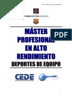 RESISTENCIA Master Alto Rendimiento 2 -Moze