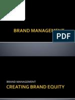 Brand Management MARKETING