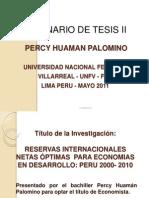 Título de La Invest. TESIS 2011