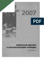Statistické metody v psychologickém výzkumu Eva Reiterová