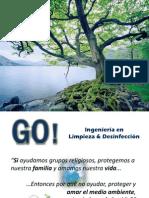 Presentación Productos GO! Limpieza & Desinfección