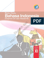 Bahasa Indonesia Ekspresi Diri Dan Akademik (Buku Guru)