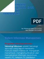 Tekinik-teknik Pengendalian Dan Teknologi Informasi