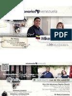 Missionary Prayer Card 2014
