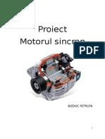 motorul sincron