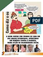 """Jornal do PSD Madeira quer trocar """"cromos"""" de jornalistas por """"remédio contra a diarreia"""""""