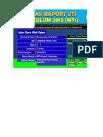Aplikasi Raport UTS