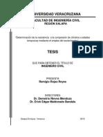 Tesis (esclerómetro)