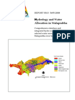 Hydrology and Water Allocation in Malaprabha_Comprehensive Database and Integrated Hydro Economic Model for Selected Water Services in the Malaprabha River Basin_NIVA_CISED_2008 (1)