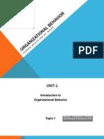 Organizational Behavior(R)