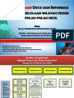 Pengelolaan Data dan Informasi untuk Pengelolaan Wilayah Pesisir dan Pulau-Pulau Kecil