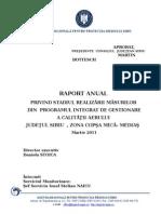 27895_DRAFT-Raport Anual Privind Monitorizarea PIGCA Martie 2011