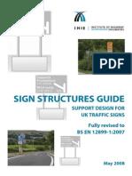Design Guide for Sign Structures - BS en 12899-1-2007