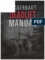 The Juggernaut Method Deadlift Manual