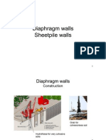 Diaphragm Sheetpile