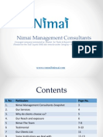 Nimai Corporate Profile
