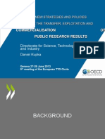 OECD Comparison of Technology Transfer