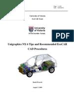 EcoCAR NX6 Procedures and Tips