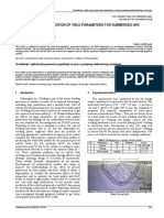 Prediction and Optimization of Yield Parameters for Submerged Arc Welding Process