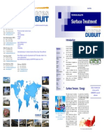 Technical Bulletin Surface Treatment - EnCRES DUBUIT - 06