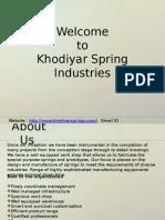 Die Springs | Die Springs Manufacturers | Die Springs Suppliers | Die Springs Exporters