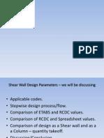Shear Wall Design Presentation1