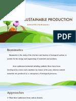 Artifical Fiber by Biomimetics