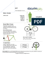 Road Bike Size Sheet _ EBicycles