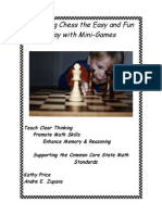 Teaching Chess the Easy Fun Way With Mini Games