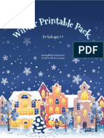 Winter Printable Pack 2013