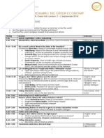 GEC Global Meeting (Draft Agenda, Updated 13.08)
