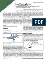 Aircraft Brake System