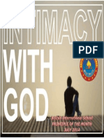 July - Intimacy With God