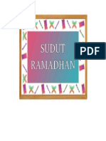 SUDUT RAMADHAN