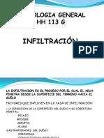 INFILTRACIÓN Capitulo 6