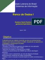 BD I 01 Conceitos