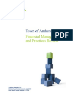 Town of Amherstburg — Financial Management and Practices Review