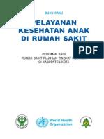 Buku Saku Pelayanan Kesehatan Anak Di RS
