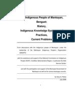 Indigenous Peoples of Mankayan Benguet