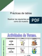 WordPractica Tablas