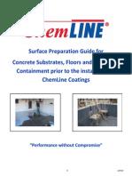 ChemLine Surface Preparation Guide Concrete