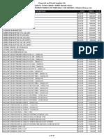 CSS Pricelist March 2011