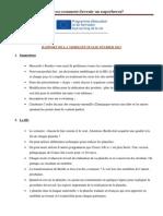 rapport mobilite italie